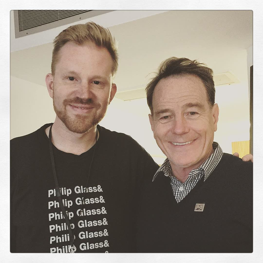 photo chilling with Bryan Cranston #3
