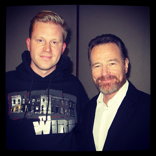 photo chilling with Bryan Cranston #1