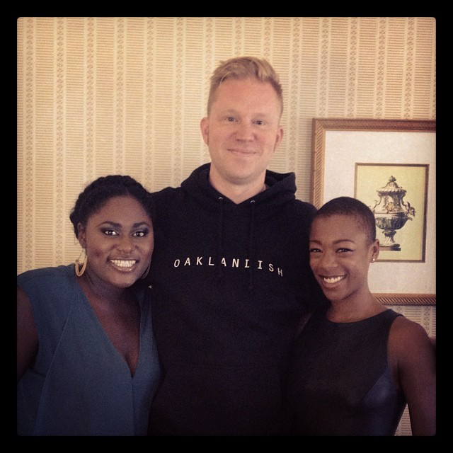 photo chilling with Danielle Brooks & Samira Wiley