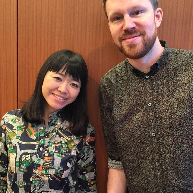 photo chilling with Hiromi Uehara #2